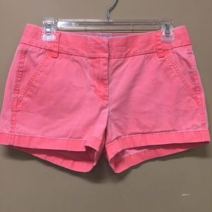 J Crew Broken In Chino Shorts Size 2